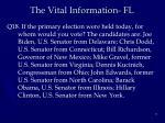 the vital information fl1