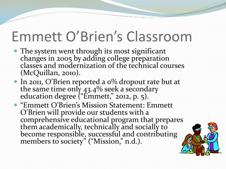 Emmett O'Brien's Classroom