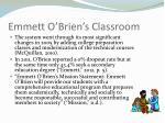 emmett o brien s classroom