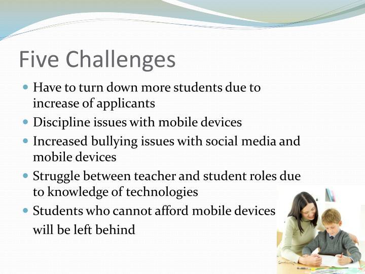 Five Challenges