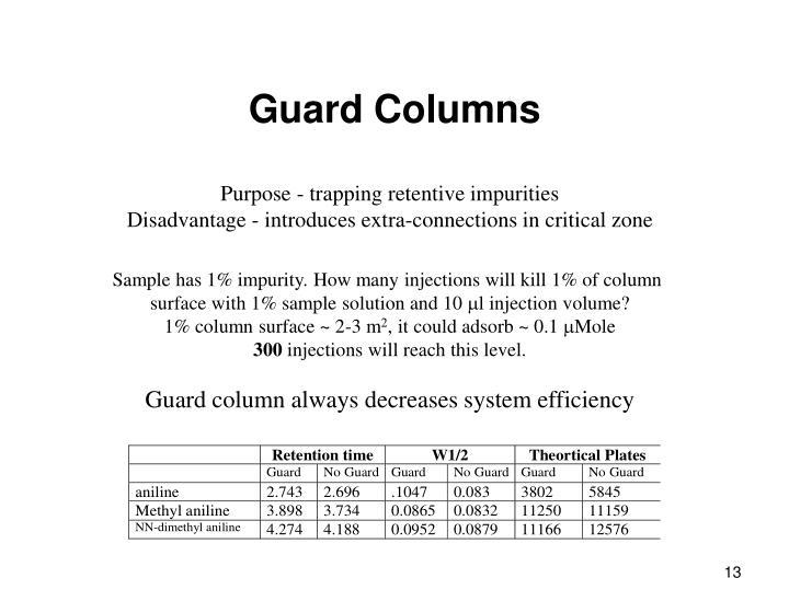 Guard Columns