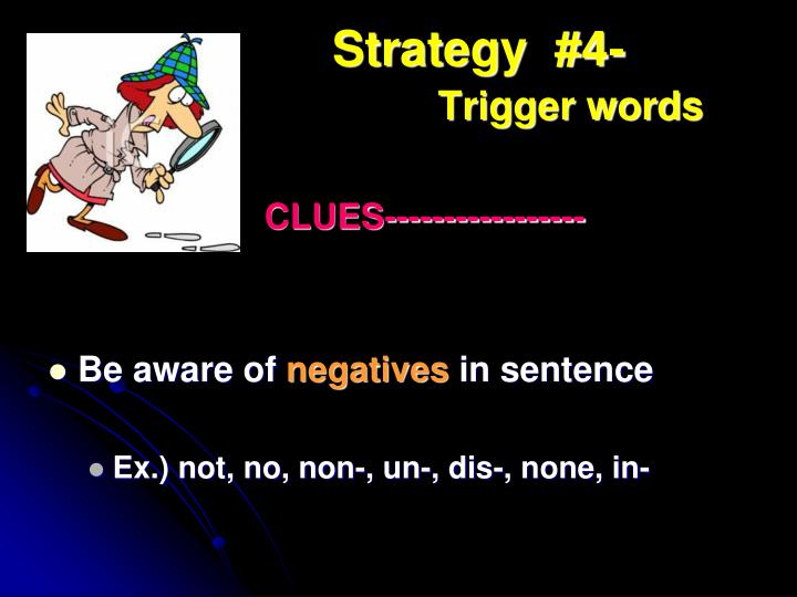 Strategy  #4-