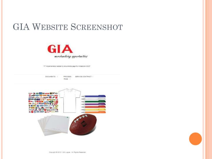 GIA Website Screenshot