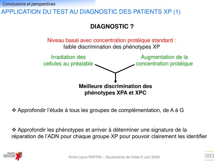 DIAGNOSTIC ?