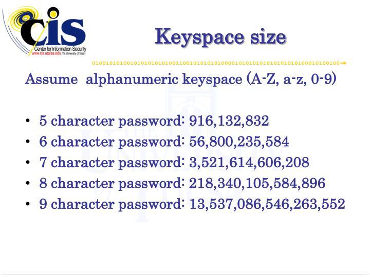 Keyspace
