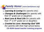 family honor www familyhonor org