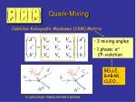 quark mixing