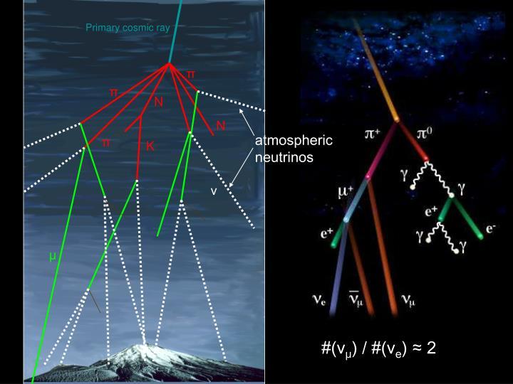 Primary cosmic ray