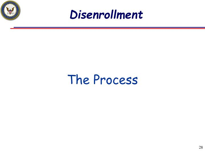 Disenrollment