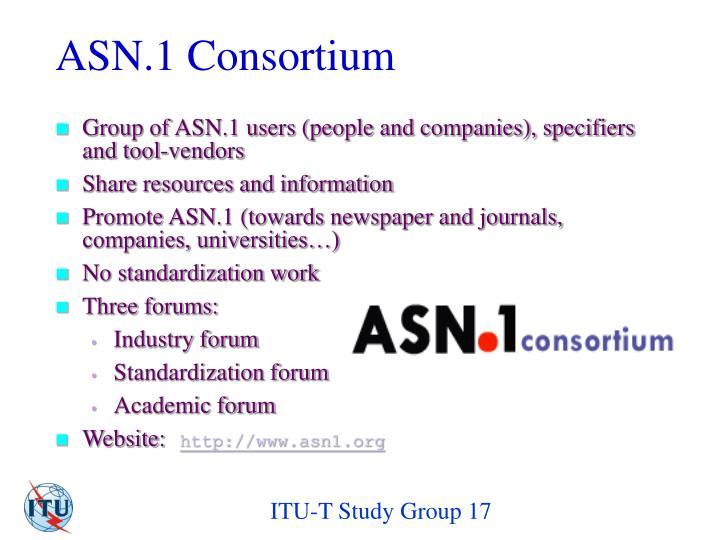 ASN.1 Consortium