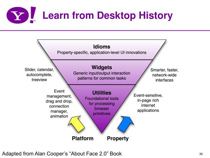 Learn from Desktop History