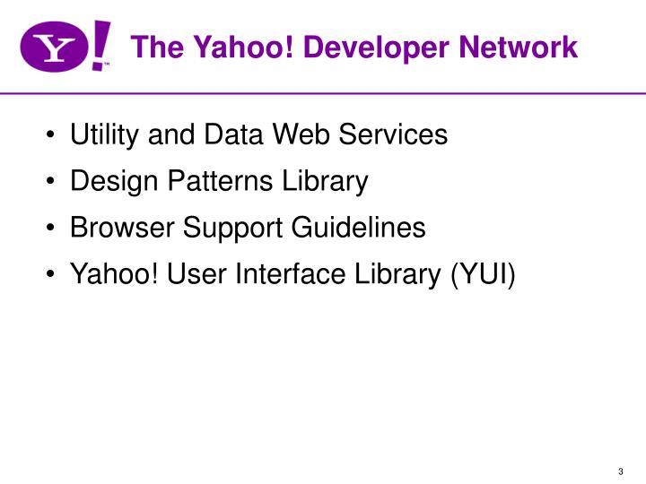 The Yahoo! Developer Network