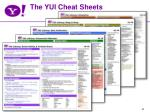 the yui cheat sheets