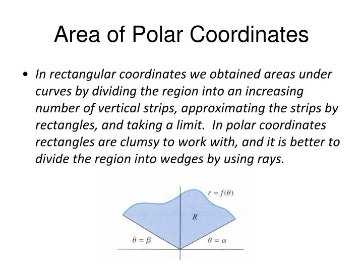 Area of polar coordinates1