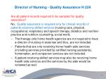 director of nursing quality assurance h 2241