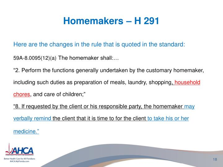 Homemakers – H 291