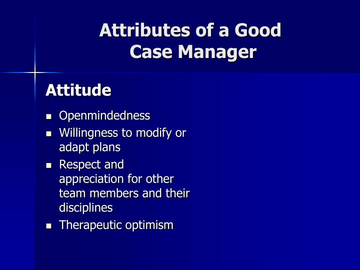 Attributes of a Good