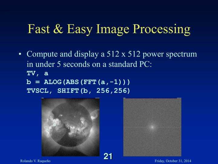 Fast & Easy Image Processing