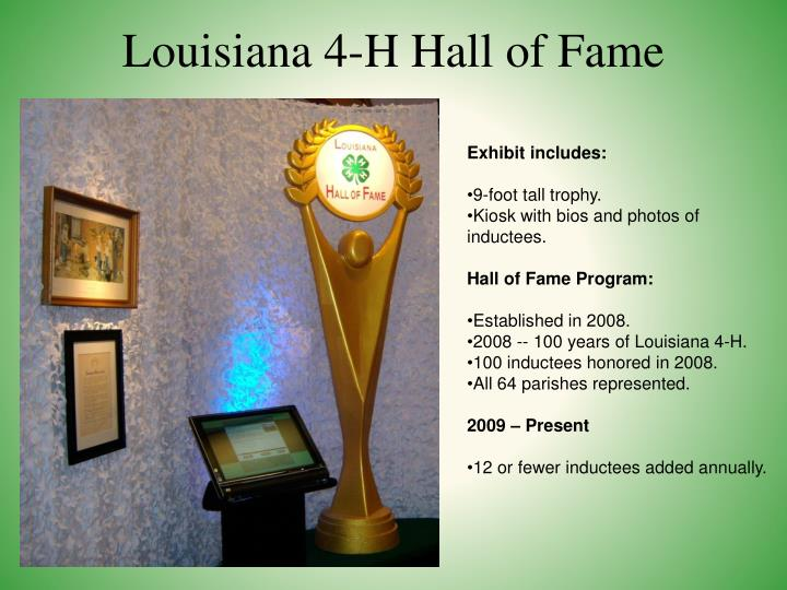 Louisiana 4-H Hall of Fame