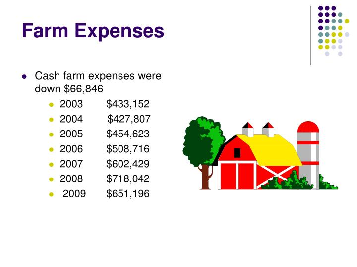 Farm Expenses