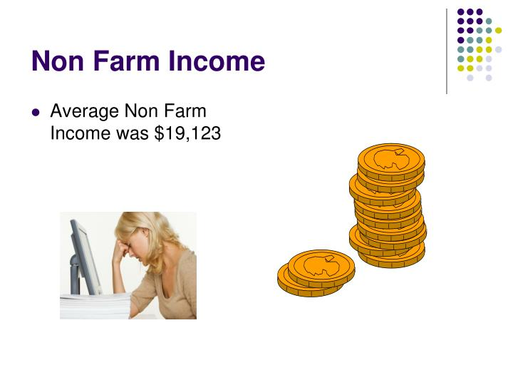 Non Farm Income