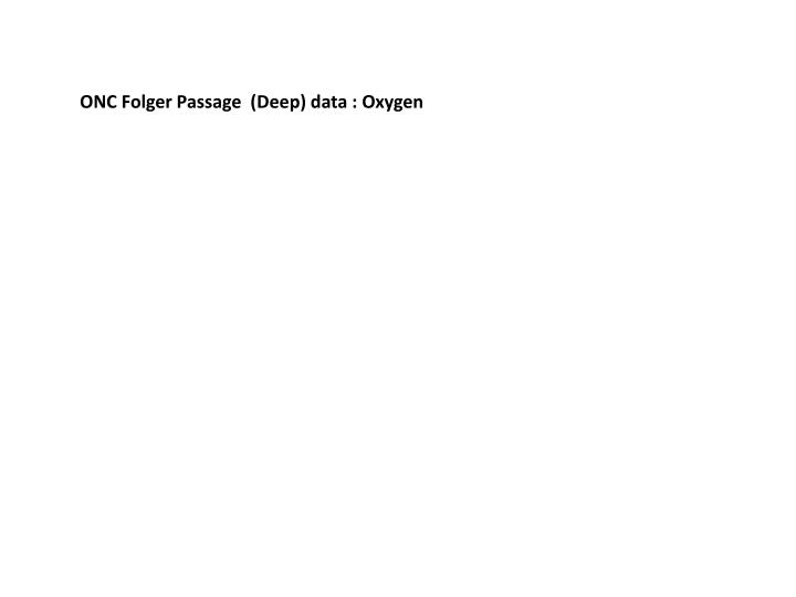 ONC Folger Passage  (Deep) data : Oxygen