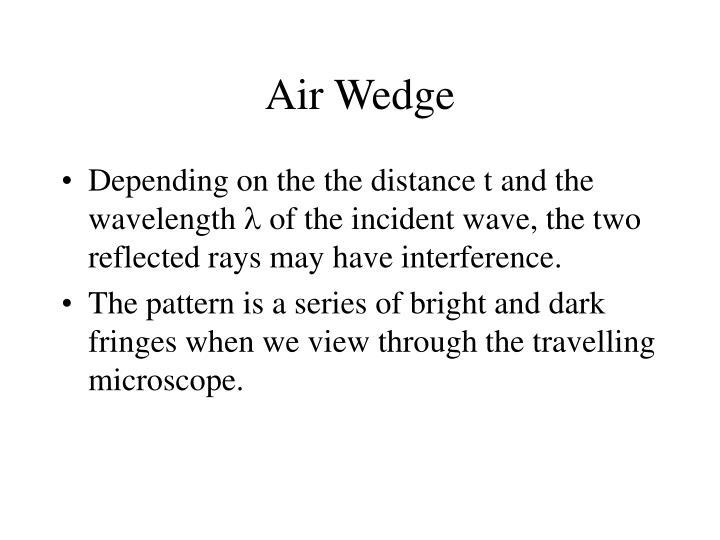 Air Wedge