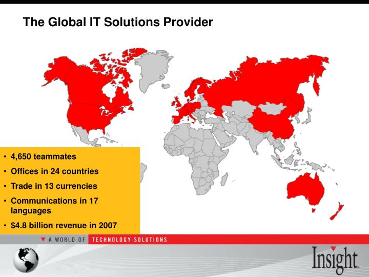 The Global IT Solutions Provider