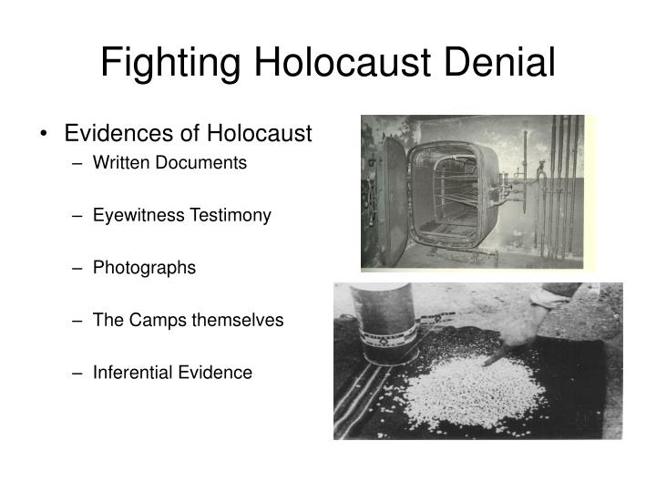 Fighting Holocaust Denial