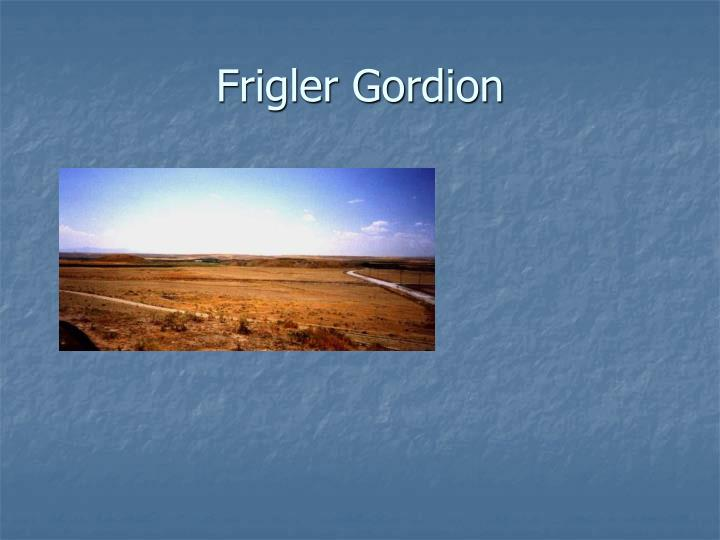 Frigler Gordion