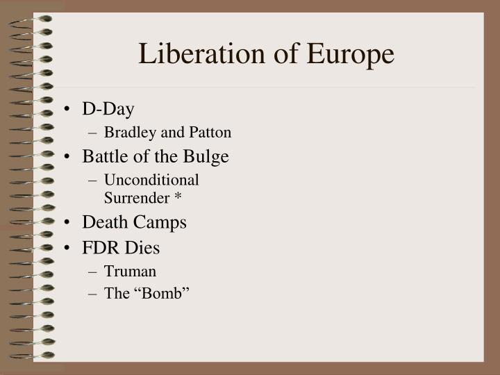 Liberation of Europe