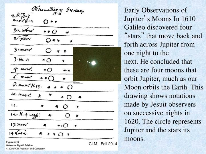 Early Observations of Jupiter