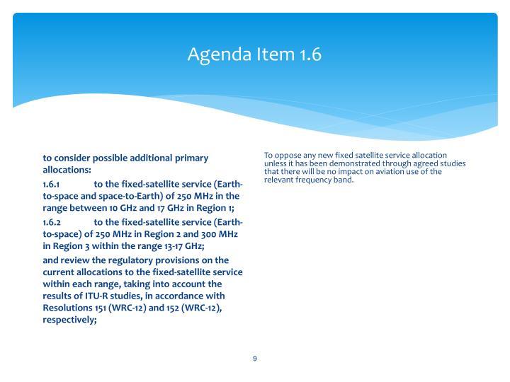 Agenda Item 1.6