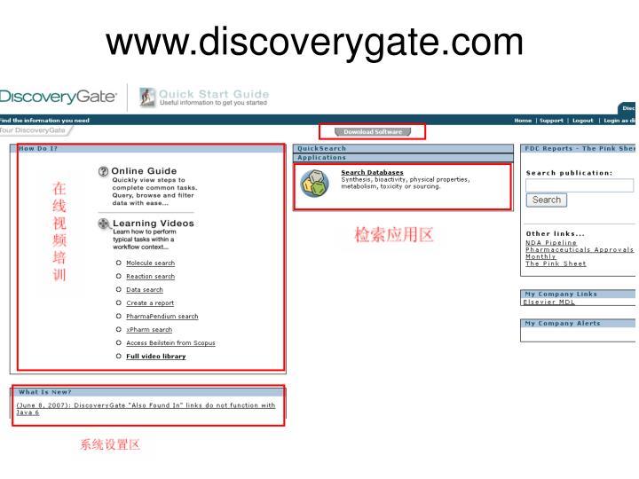 www.discoverygate.com