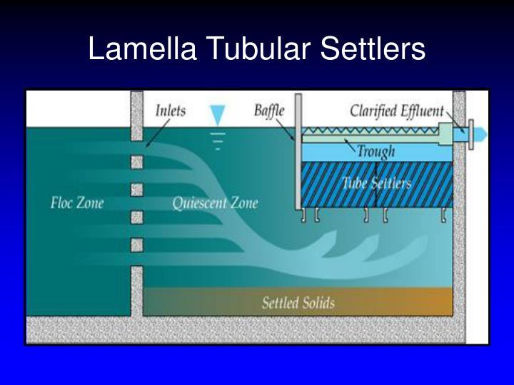 Lamella Tubular Settlers