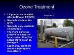 ozone treatment