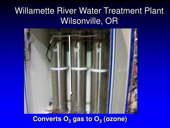 Willamette River Water Treatment Plant