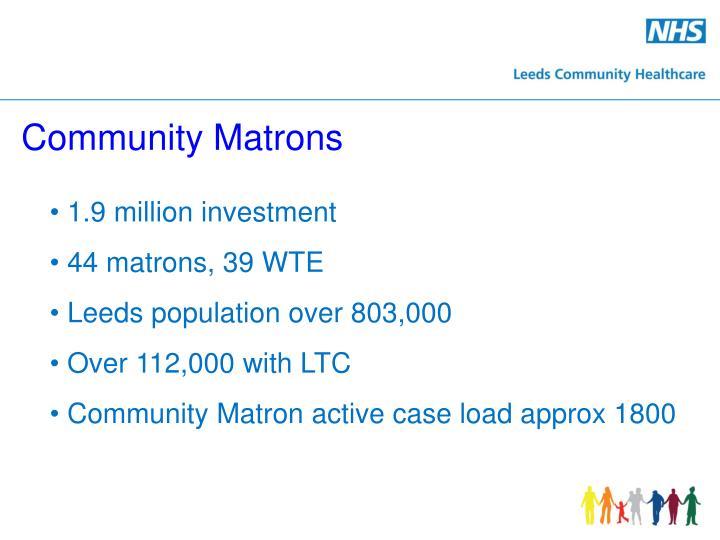 Community Matrons