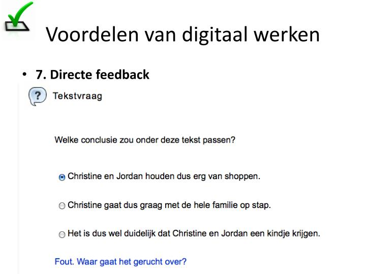 Voordelen van digitaal werken