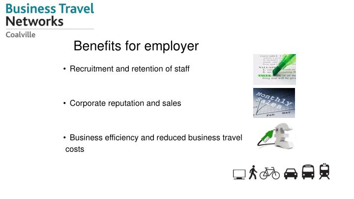 Benefits for employer