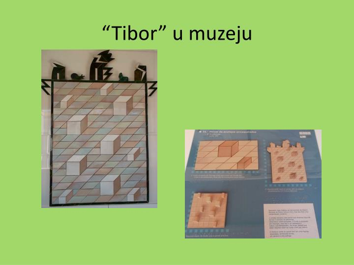 """""""Tibor"""" u muzeju"""