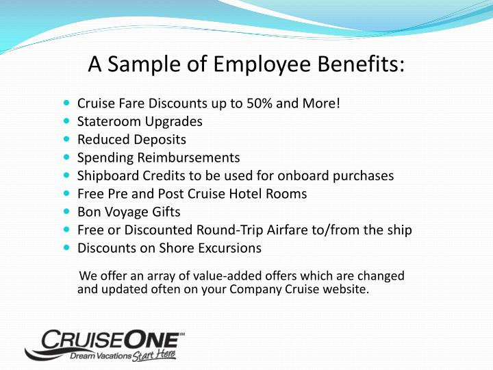 A Sample of Employee Benefits: