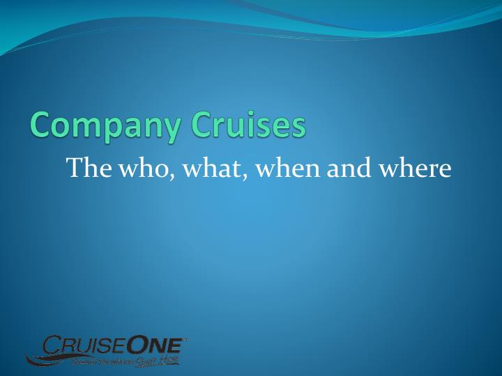 Company Cruises