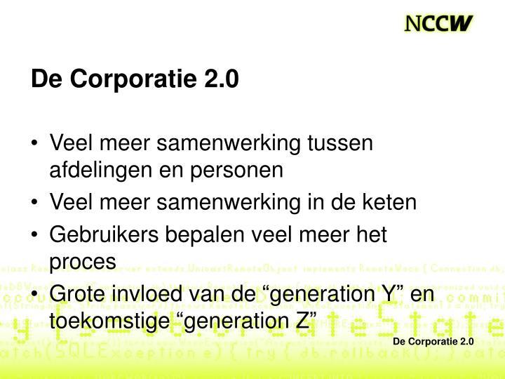 De Corporatie 2.0
