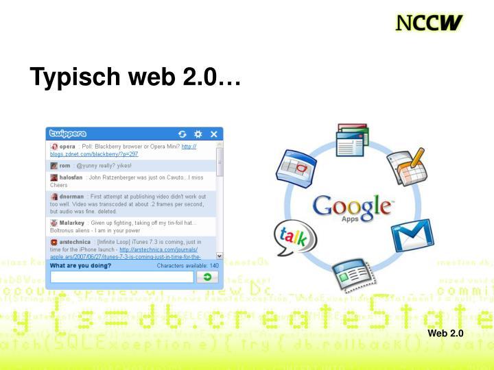 Typisch web 2.0…