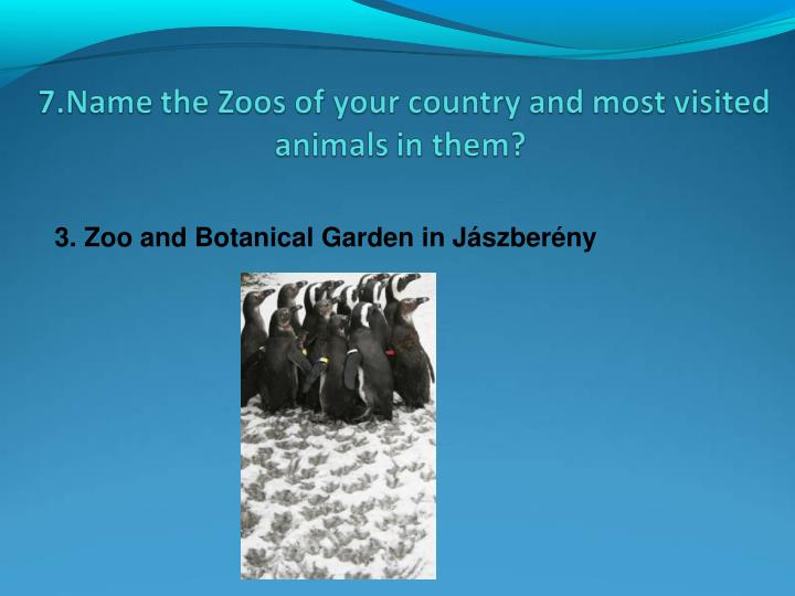 3. Zoo and Botanical Garden in Jászberény