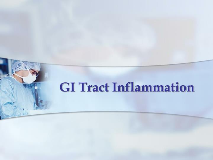 GI Tract Inflammation