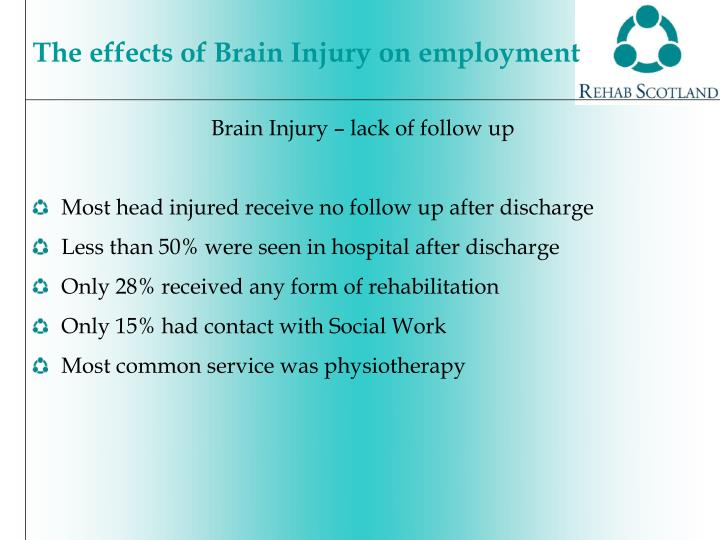 Brain Injury – lack of follow up