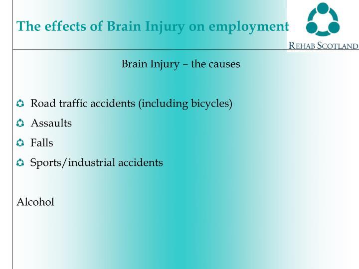 Brain Injury – the causes