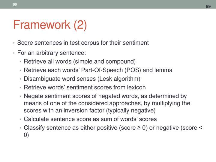 Framework (2)